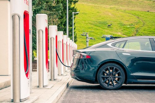 How to Charge a Tesla on a Road Trip