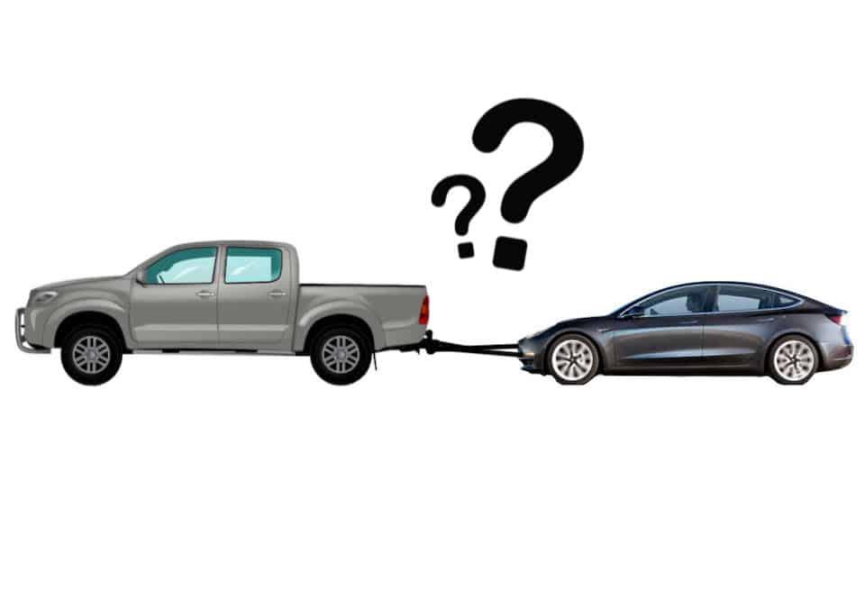 Can You Flat Tow a Tesla?