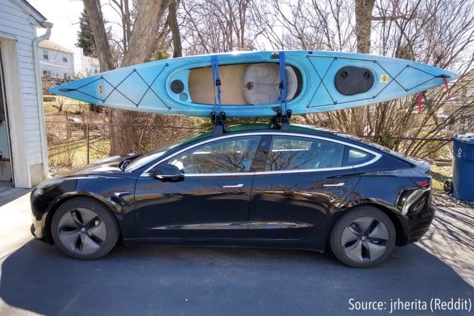 Installing a Roof Rack on Your Tesla