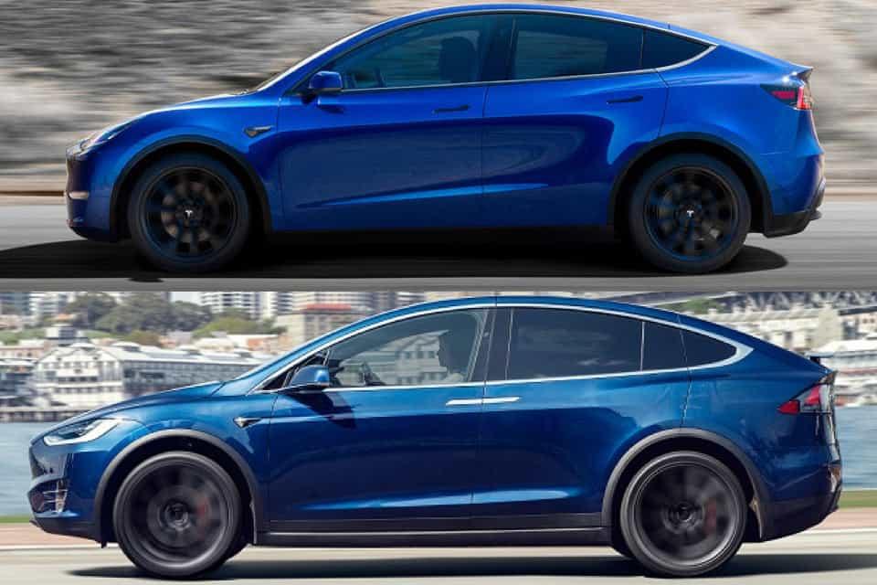 Complete Spec Comparison Between the Tesla Model X and Model Y