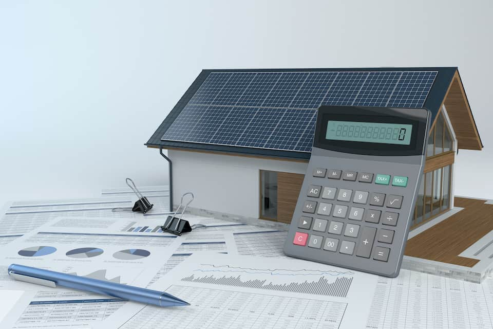 How Much Solar Power To Power A House