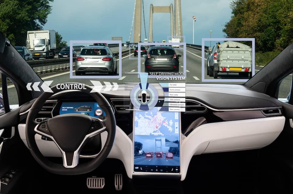 Changing Lanes with Tesla Autopilot?