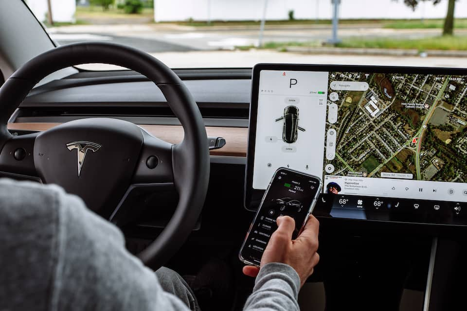 How to Connect Your Model 3 to Wi-Fi