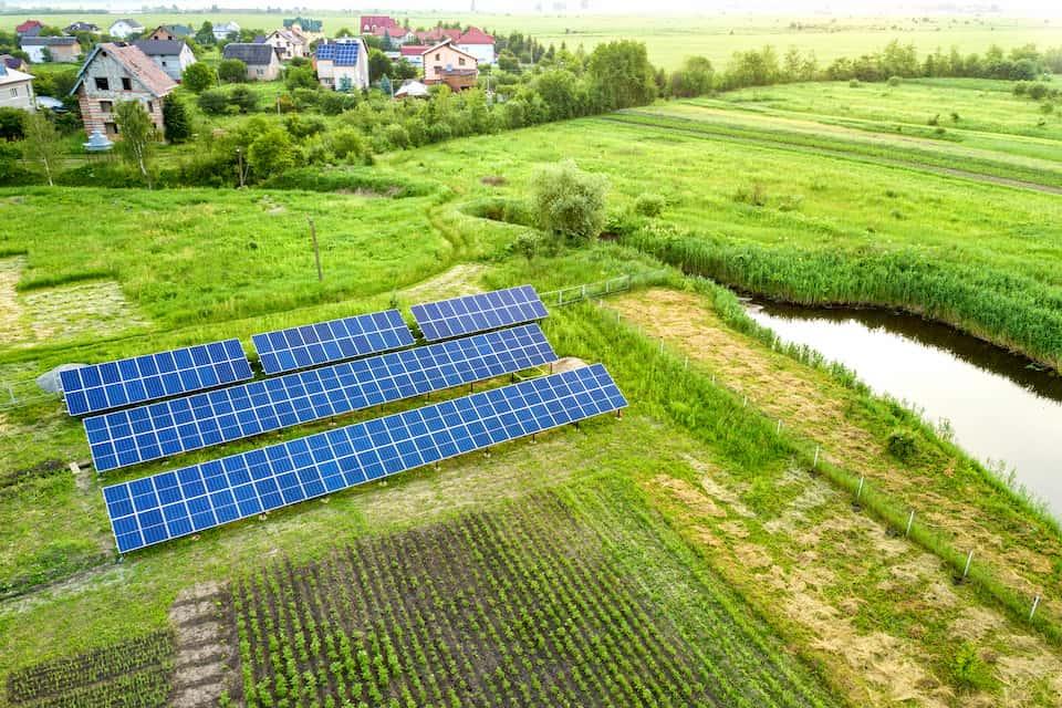 Tesla Solar Panels Installation on the Ground?