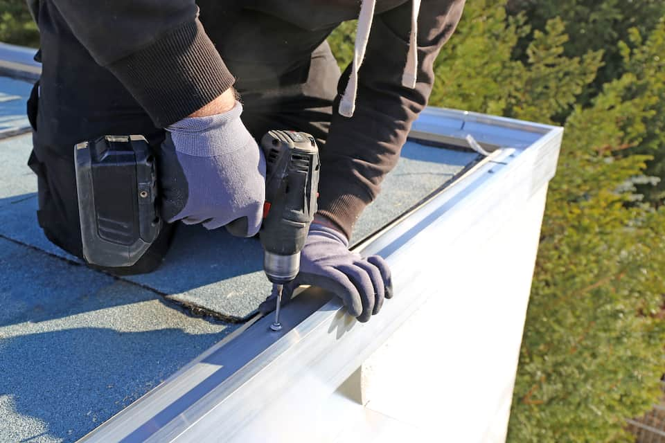 Tesla Solar Roof Shingles for a Flat Roof