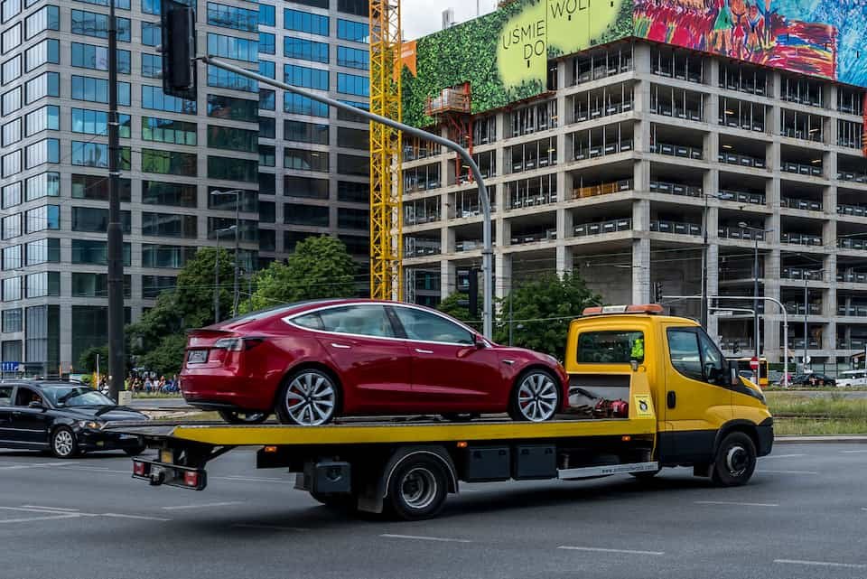 What to Do if Your Tesla Runs Out of Charge on the Road