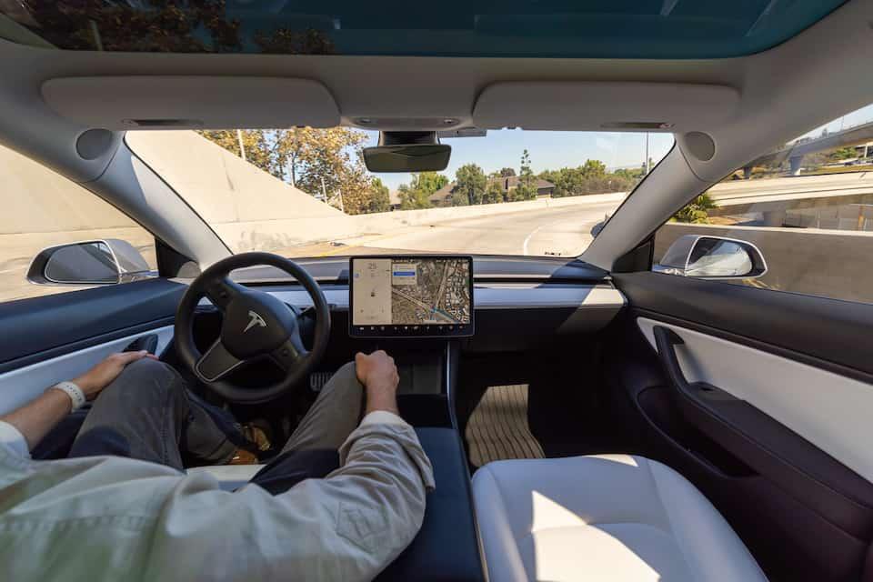 Merging and Tesla Autopilot