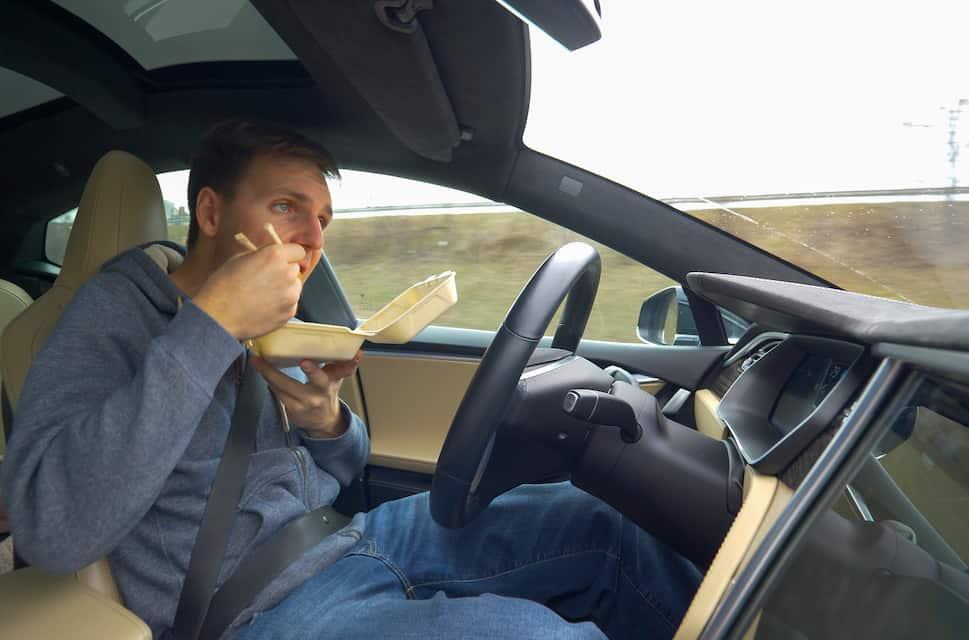 The Tesla Autopilot Button