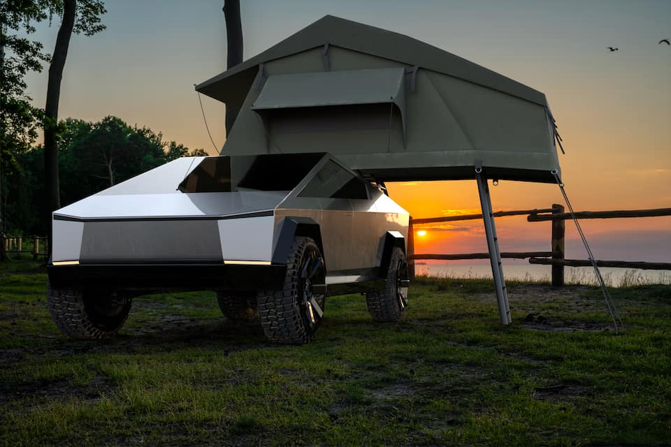 How the Cybertruck Will Revolutionize Camping