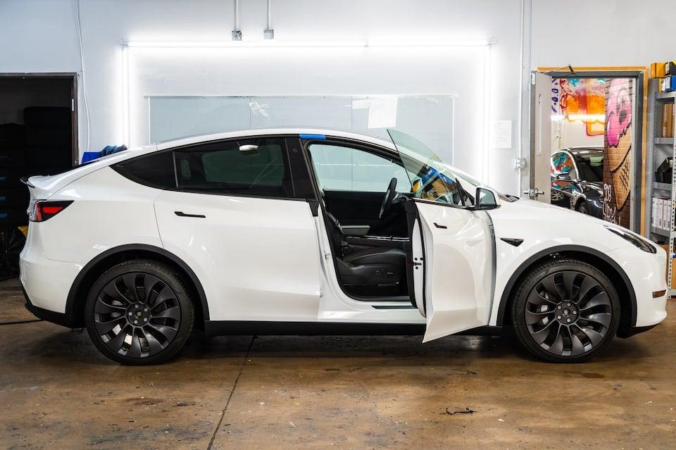 Tesla Model Y and Window Tint